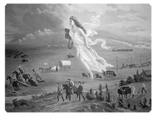 Manifest destiny and frontier thesis