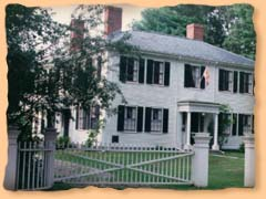 Emerson's house in Concord