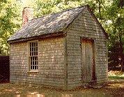 Replica of Thoreau's cabin