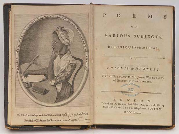 phillis wheatley essay contest