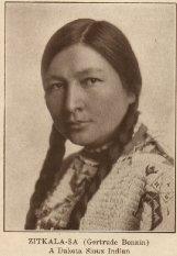 Zitkala-sa or Gertrude Simmons Bonnin
