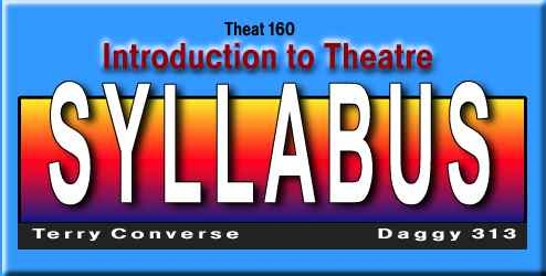 Syllabus: Intro  To Theatre