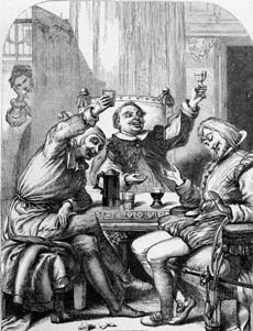 """feste the clever fool The clever, nonsensical repartee spoken by the """"fool"""" feste presages modern stand-up comedy."""