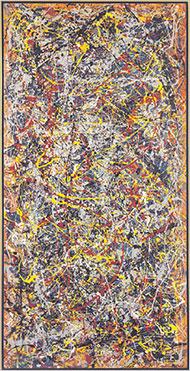 Jackson Pollock Paintings Sale Prices